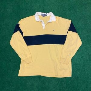 POLO Ralph Lauren Long Sleeve Rugby Shirt Size XL